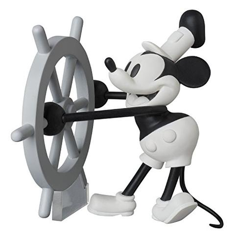 Medicom Toy  350 Ultra Detail Figure Mickey Mouse Disney Steamboat Willie MA
